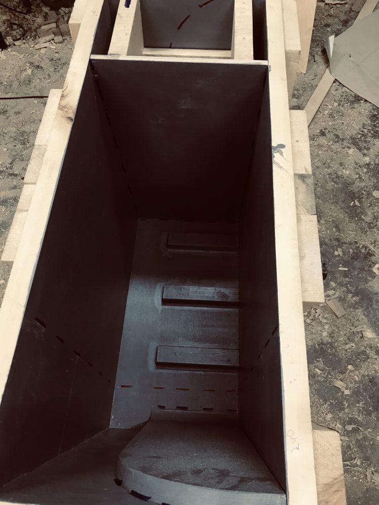 Ящик для коробки